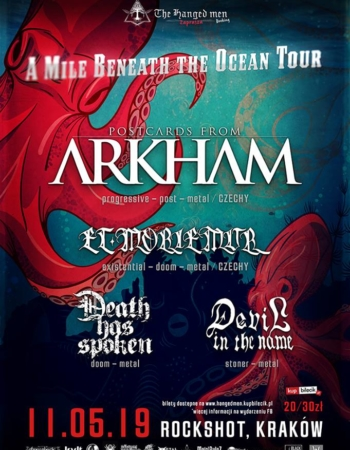 a mile beneath the ocean tour kraków rockshot postcards from arkham